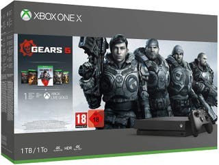 Xbox One X + Colleción Gears of War
