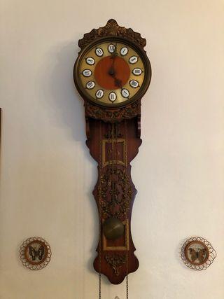 Reloj de pared marca alemana Sars con carrillon