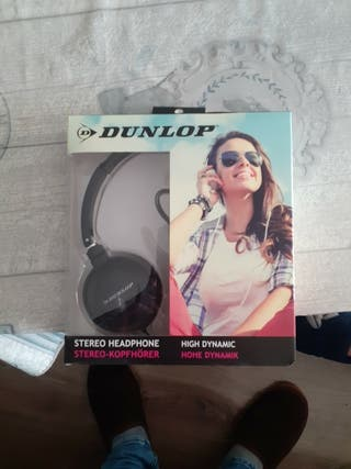 auriculares dunlop