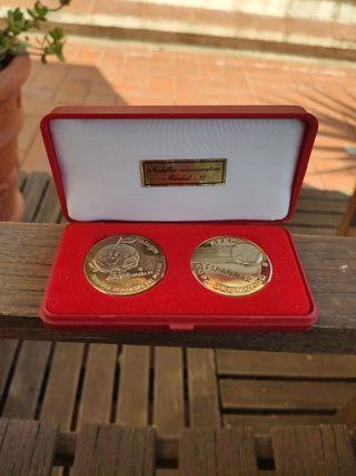 Medallas conmemorativas Mundial 82