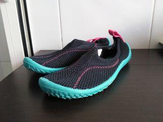 Zapatillas acuáticas escarpines niño 32