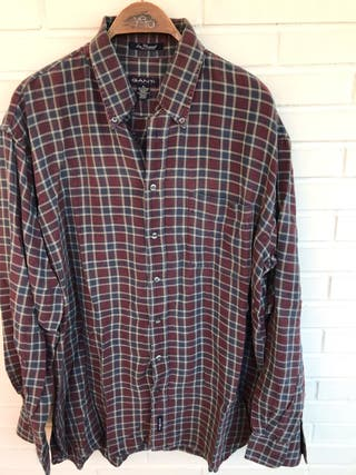 10 camisa cuadros GANT IVY FLANNEL talla XL de segunda mano