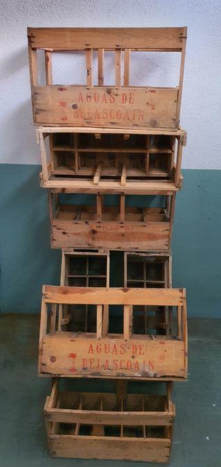 cajas de madera botelleros
