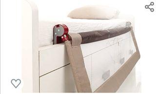barandilla plegable cama niños
