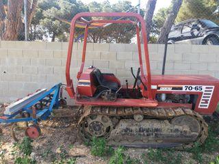 tractor de cadenas, oruga, Fiat