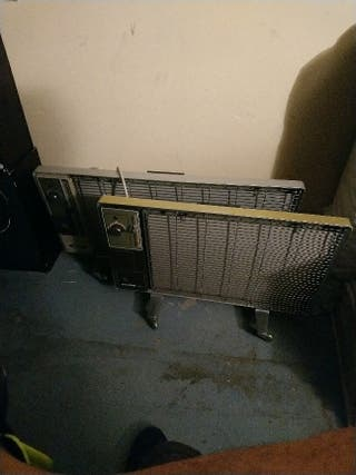 2 radiadores electricos
