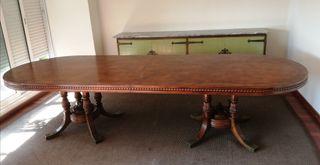 URGENTE Gran mesa comedor madera extensible