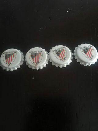 Chapas del Athletic club Bilbao