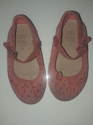zapatos bebé niña talla 19