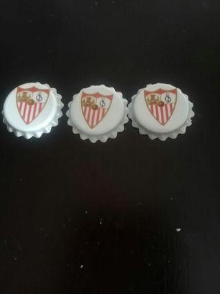 Chapas equipo del Sevilla
