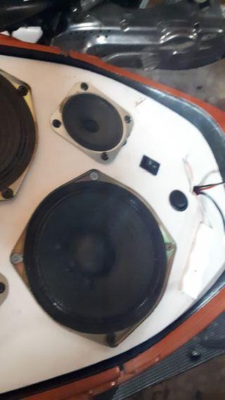yamaha aerox equipo de musica
