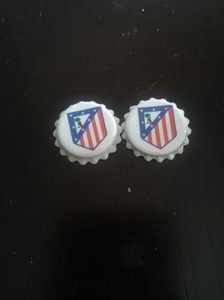 Chapas Atletico de Madrid