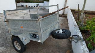 Remolque coche de carga