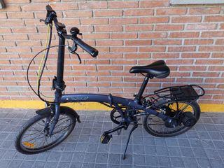bicicleta eléctrica plegable BTWIN BFOLD 7