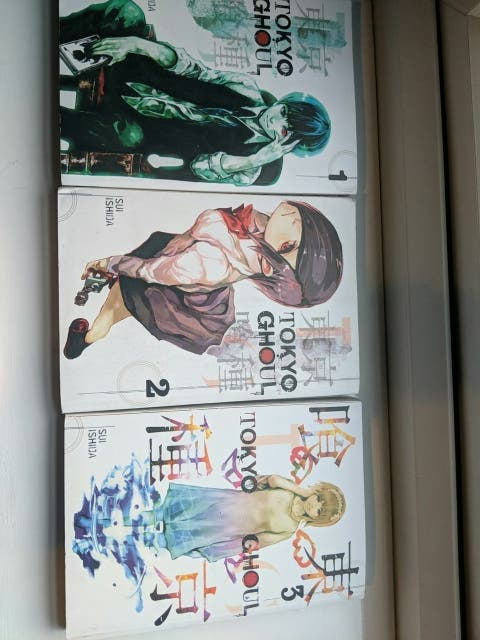 Tokyo ghoul 3 set manga books