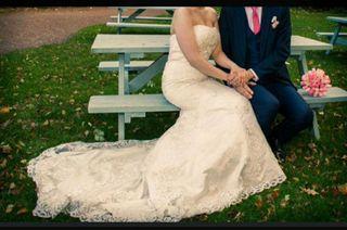 Vestido de novia (precio negociable)