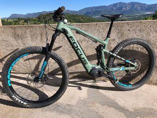 Bicicleta eléctrica Focus Jam2 Plus 2018
