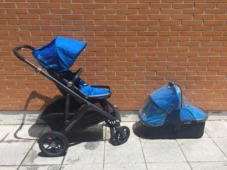 Carrito Uppababy + maxicosi + silla coche be cool