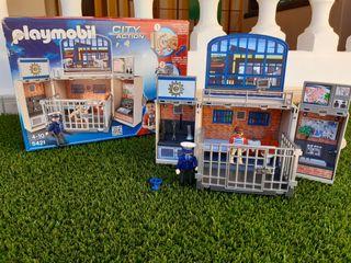 Maletín cárcel playmobil con accesorios