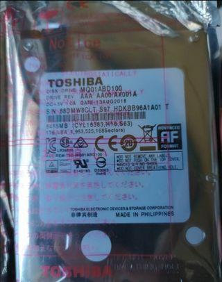 Disco Duro Toshiba SATA 2,5 (Nuevo)