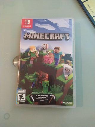 Juego para nintendo Minecraft