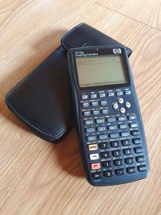 Calculadora científica HP 50G ingeniería