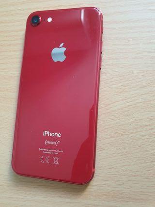 IPHONE 8 NORMAL DE 64GB RED ORIGINAL LIBRE PERFECT