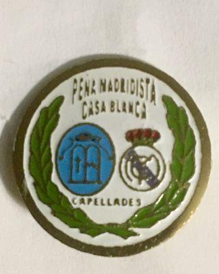Pin Peña Real Madrid Casa Blanca - Capellades