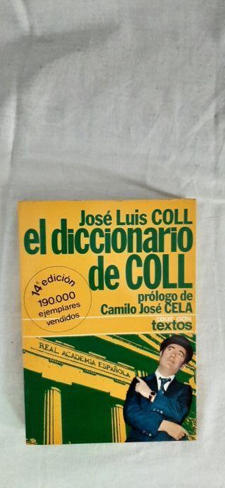 Libro El diccionario de Coll