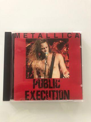 Metallica, Public execution, bootleg pirata CD 89