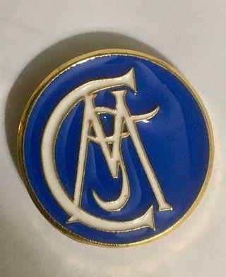 Pin escudo fútbol Real Madrid 1902