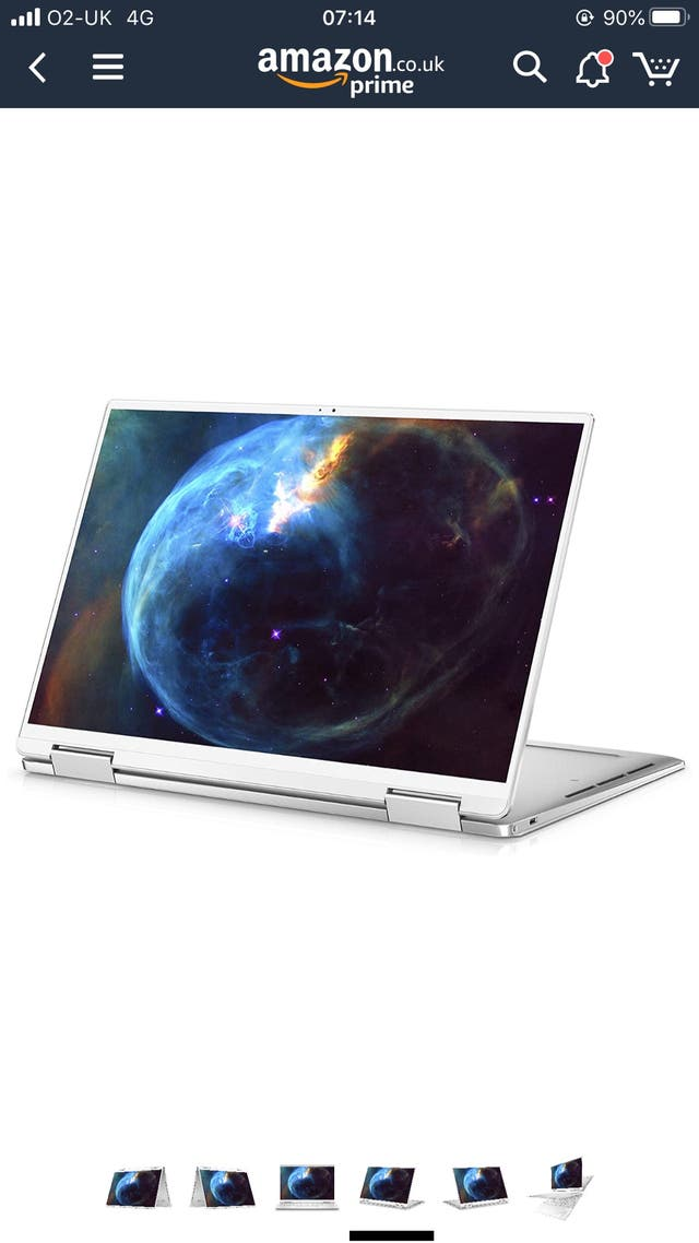Dell XPS 13.4 2 in 1 laptop tablet