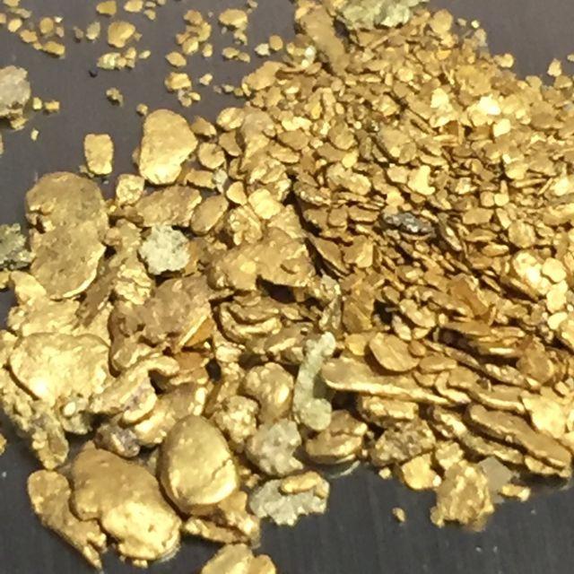 Pepitas de oro puro