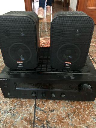 Equipo de música amplificador