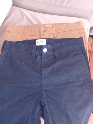 pantalones carhartt y kaotico talla 28-30-28