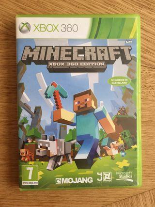 Juego Minecraft Xbox 360