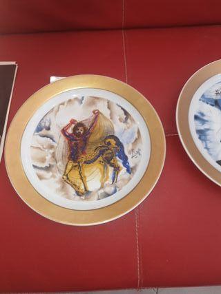 los caballos de Salvador Dali