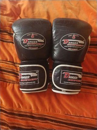 guantes boxeo kickboxing protecciones