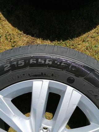 "vw alloy wheels 16 "" 2018 whit Goodyear tyres"