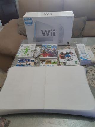 Nintendo wii juegos mandos y plataforma