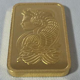 Lingote oro puro