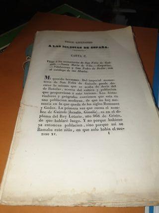 libro muy antiguo de los años 1831 ...