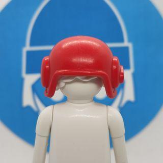 Playmobil casco rojo