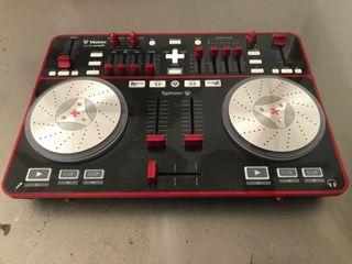 Vestax Typhoon controladora DJ mesa mezclas