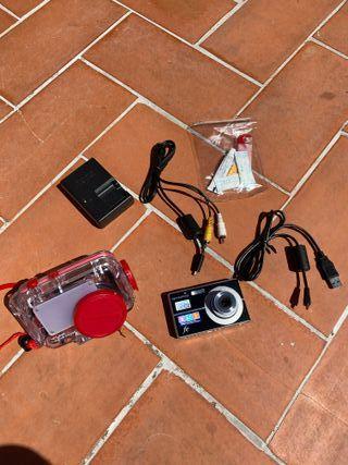 Camara digital de fotos Olympus / carcasa estanca