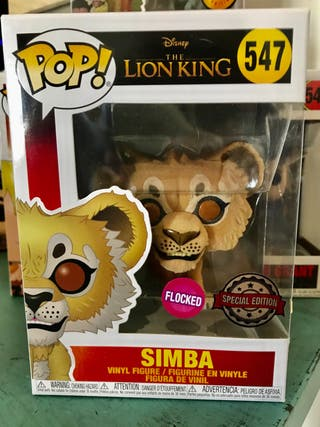 Funko Simba Flocked