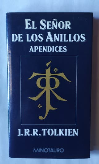 Libro Apéndices. El Señor de los Anillos.