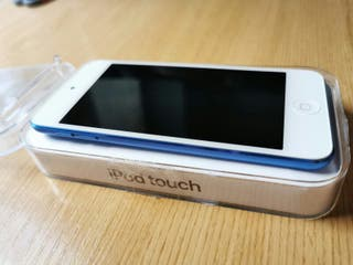 Ipod touch 7 ult. Gen. azul 128gb COMO NUEVO