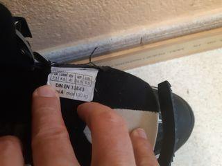 patines línea fila talla 41