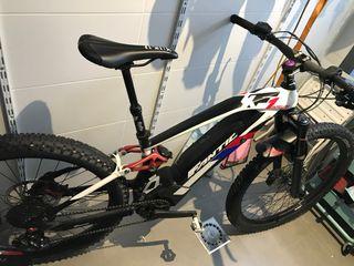 Bici eléctrica MTB Fantic XF1 Integra 160 ENDURO